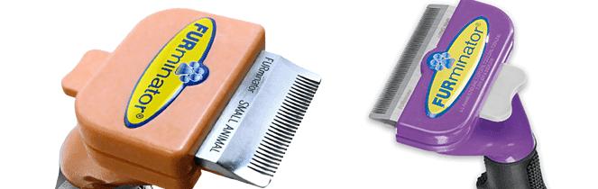 Фурминаторы для длинной и короткой шерсти