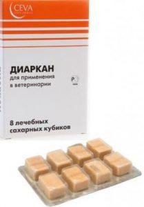 Лекарство от поноса у собаки Диаркан