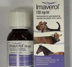 Препарат Имаверол для лечения лишая у собак