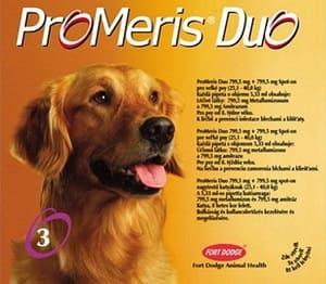 Капли Промерис Дуо для собак от клеща демодекс