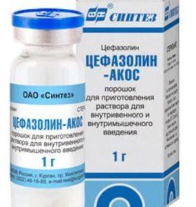 Цефазолин: антибактериальный препарат
