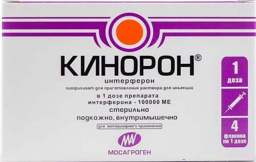Кинорон: препарат для лечения парвовируса у щенков