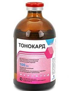 Тонокард: ветеринарный противошоковый препарат