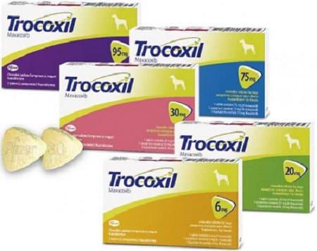 Таблетки Трококсил для собак: 5 видов дозировки