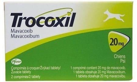 Аналог Цималджекс: таблетки Трококсил для собак