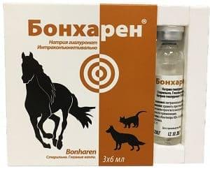 Бонхарен: увлажняющие глазные капли для животных
