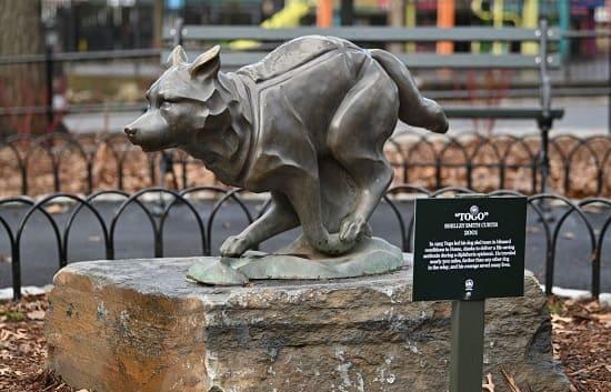 Памятник Того в Нью-Йорке